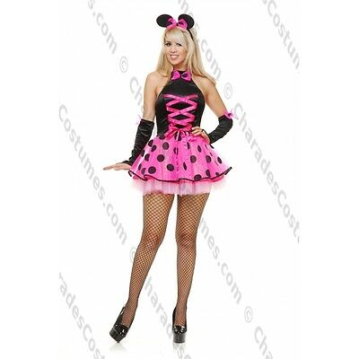 Charades SEXY MISS MOUSE CUTIE Halloween Party Costume Adult Large NEW pink ](Missy Mouse Halloween Costume)