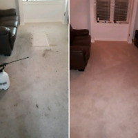THE REAL DEEP HOT STEAM CARPET CLEANING SERVICE USING TRUCKMOUNT