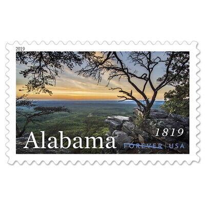 USPS New Alabama Statehood Pane of 20