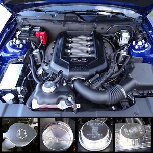 UPR 5000-27 Ford 2011-2014 Mustang GT Billet Engine Dress Up Kit 1.2