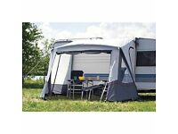 westfield air porch awning complete with pump. excellent condition only used for 2 weekends