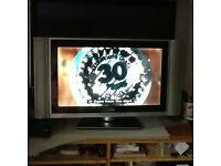 """LCD TV 27"""" with Digital Box with lead."""