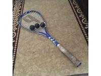 Prince squash racket FORCE3 &3 balls