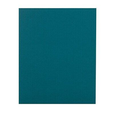 Office Depot Brand 2-pocket Folders Without Fasteners Teal Pack Of 25