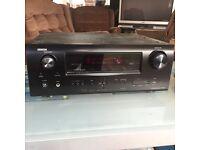 Denon AVR 2311 home cinema receiver amp/ chrome cast audio