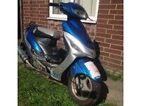 Lexmoto 50cc moped 2015
