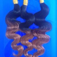 Rallonges ombré brun / Ombre brown hair extensions
