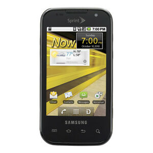 Samsung SPH M920 Transform - Black (Sprint) Smartphone (CP19004) (NEW-PHONE)