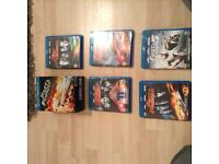 Fast & Furious Blue Ray Boxed Set Collection Films 1 to 5