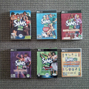 The Sims 1 - The Sims 2 - PC game package Belleville Belleville Area image 4