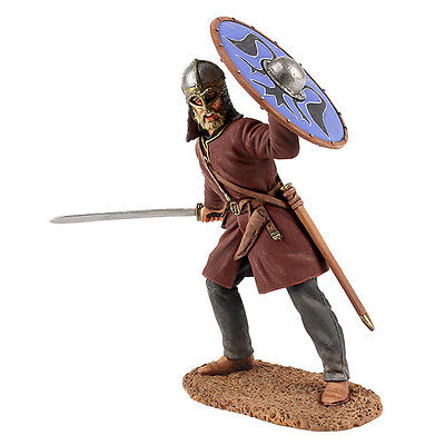 Viking Wearing Gjermundbu Helmet w/ Sword Britains #62103 Wrath of the Northmen (Toy Viking Helmet)