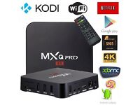 MXQ Pro 4K Android TV Box Amlogic S905 fully loaded with new version wookie kodi and mobdro