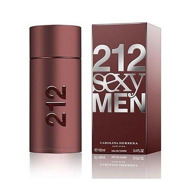 212 Sexy Men by Carolina Herrera  3.4 / 3.3,  1.7 Oz EDT (NIB) 212 Sexy Men Edt