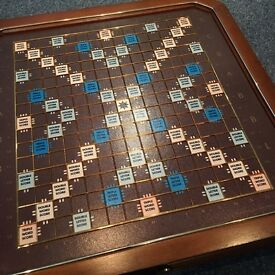 Franklin Mint Scrabble Set