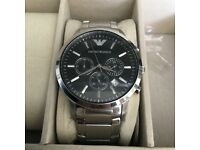 Armani MENS watch used but okay condition very small strap