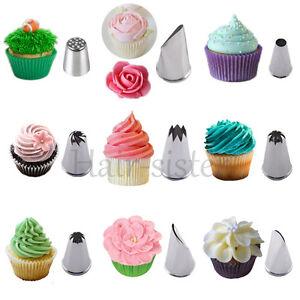 Cake Nozzles To Decorate Mini Cupcakes