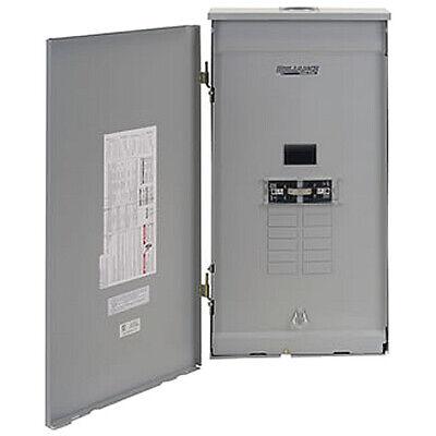 Reliance Controls 100-amp Outdoor Transfer Panel W Wattmeters