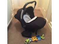 Silver cross Ventura car seat and isofix base