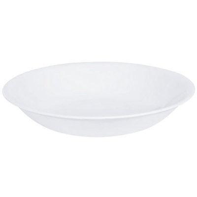 4 New Corelle Winter frost White Soup Pasta Bowls 20oz