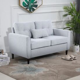Traditional (GREY) 2 Seater Sofa Selling at £130