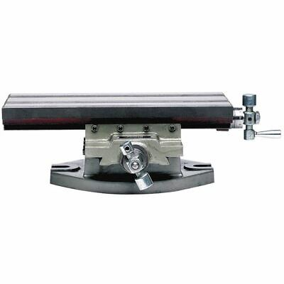 Phase Ii Y555-008 8 X 5 Travel Compound Milling Drilling Slide Table