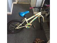 Kids bike, woodland charm