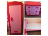 Little girls IKEA bedroom set ❤️