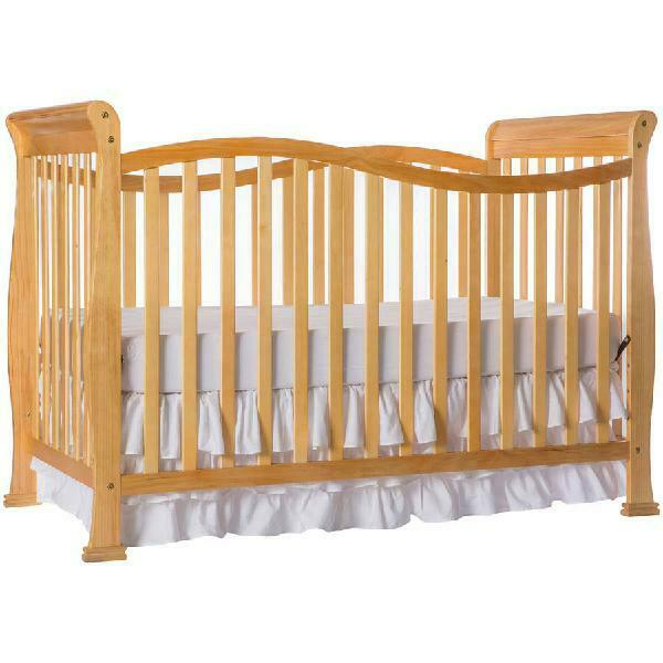Dream On Me Violet 7-in-1 Convertible Crib, New Zealand Pine