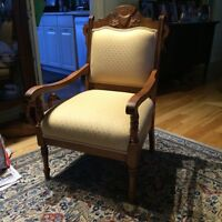 Antique sitting chairs couch