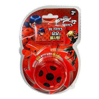 Miraculous Ladybug Yo Yo + Star Candy 8g Auto Return Toy Game Hobby Children