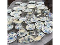 LARGE COLLECTION OF MASONS REGENCY CHINA