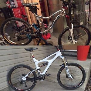 2 custom bikes for sale ( enduro and downhill) trades welcome