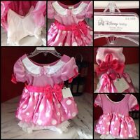 Pink Minnie Mouse Costume, New with Tags