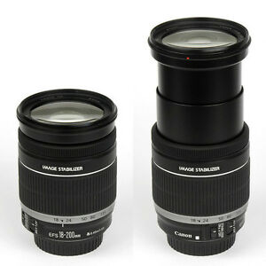 mint canon EF S 18 200 IS super zoom lens