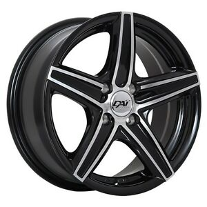 "17""x7.5 DAI Revo wheels winter packages"
