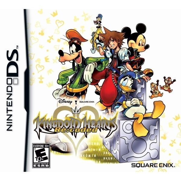 Kingdom Hearts Recoded Game DS - Brand New!