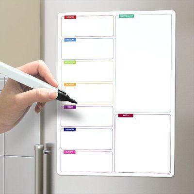 ean 8430306262413 shopping list magnetic fridge board a3 drywipe large notice whiteboard pen. Black Bedroom Furniture Sets. Home Design Ideas