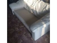 3 seat 1 seat and 1 seat faux leather sofa