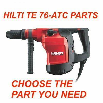 Hilti Te 76-atc Hammer Drill Parts Check The Part You Need Preowned Fast Ship