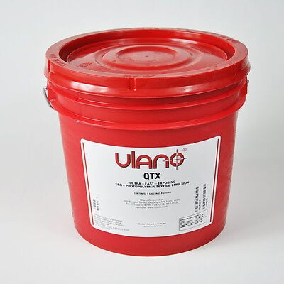 1 Gallon Ulano Qtx Screen Printing Emulsion 26 Off List Price