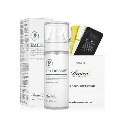 [Benton Cosmetic] Benton Tea Tree Mist 80ml + Free Gift Sample 19