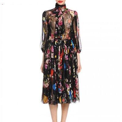 Scam31 Women Designer Inspired Embroidery Dress