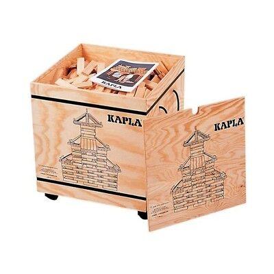 ★★★1000 KAPLA Holzbausteine, Holzkiste auf Rädern, NEU, OVP, sofort lieferbar★★★