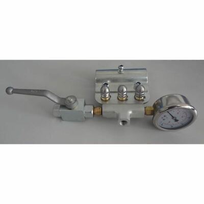 General Pump Sewer Jetting Kit W Ball Valve Gauge Three 3.0 Stainless St...