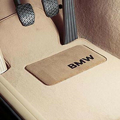 BMW OEM Beige Carpet Floor Mats Heel Pad 2011-2017 F25 X3 28iX 35iX 51472164766