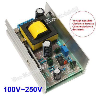 Dc-dc Converter 12v-24v To 100v-250v Dc-dc High Voltage Boost Power Supply Board