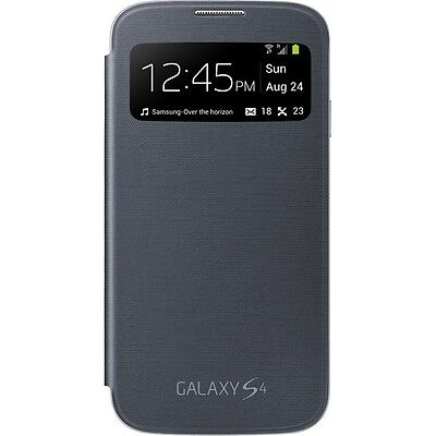 New Original Authentic Samsung Galaxy S4 S-View Flip Cover Case, Bulk (Samsung Galaxy S4 S View Flip Case)