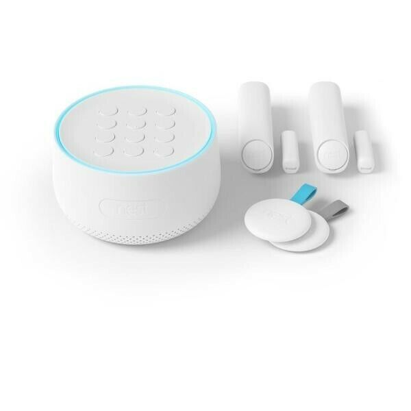 NEW Google Nest Secure Alarm System Starter Pack H1500ES w/ 2x Detect & 2x Tags