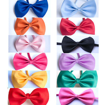 Boy Kids Baby Bow Ties Necktie Bowtie for Parties Photos Many Colors New