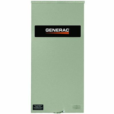 Generac 200-amp Automatic Smart Transfer Switch W Power Management Service ...